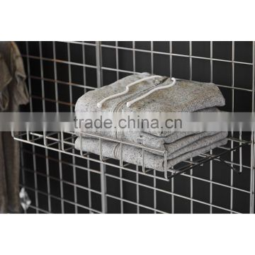 Straight Wire Shelf for Gridwall Mesh