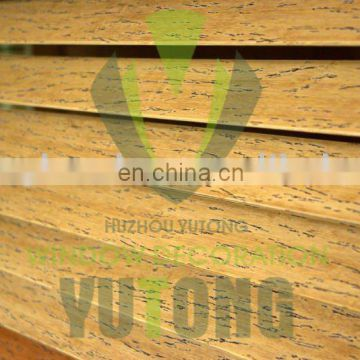 Bamboo blinds - distressed bamboo