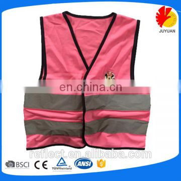 2017 Sale Hot Sale Child Size Safety Jacket Reflective Flashing Vest