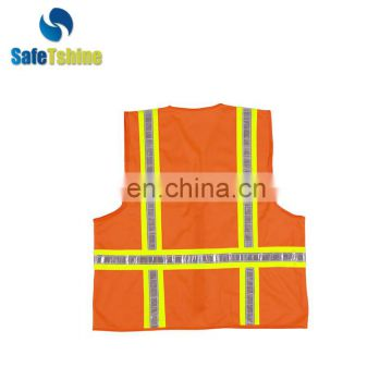 Hot selling safety high visibility custom chaleco vest