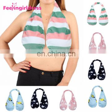 Low Price Soft Towel Bra Plus Size Breast Feeding Backless Bra