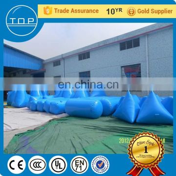 TOP service inflatable airsoft bunker archery tag paintball equipment for adults