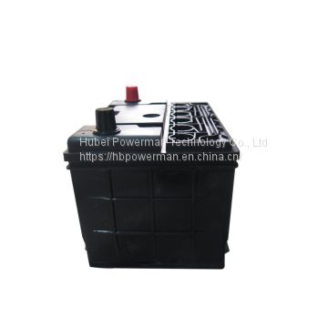 Powerman 12V 80Ah Lead Acid Portable maintenance free car battery for starting from chinese suppliers or manufacturers