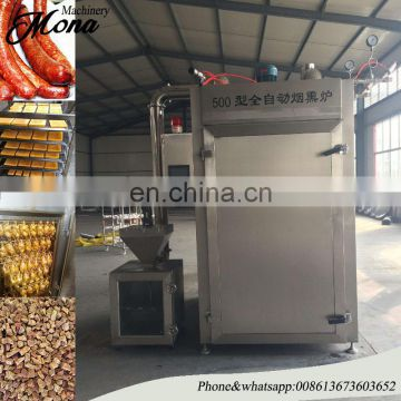 008613673603652 Serviceable fish drying and smoking machine/smoker oven/chicken cooking equipment for sale with CE approved