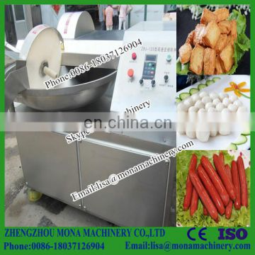 Meat Bowl Cutter /sausage Meat Chopping Machine/electric Meat Chopper