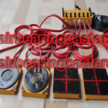 Air casters rigging systems details with pictures