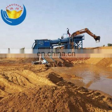 Tommel Gold Wash Plant/ Gold Extraction Trommel Equipment For Sale