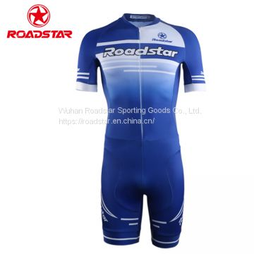 Custom made sublimation printing inline speed skating suit
