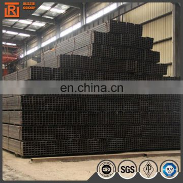 Q195 rectangular steel pipe, thin wall rectangular hollow section iron profile, steel rectangular black tube 20x10
