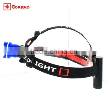 Goread T05 fisheye lens aluminum rechargeable zoom T6 high bright headlamp