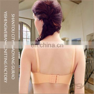 Comfortable cotton material plain dyed anti-bacterial	young lady bra