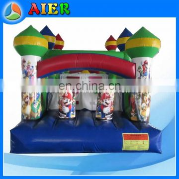mario inflatable obstacle, cheap inflatable obstacle course for sale