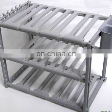 Big plastic adjustable shoe rack