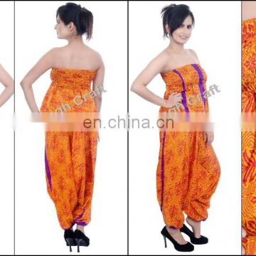 bf6cbcfa861 Womens Fashion Designer Jumpsuits -IndoWestern Harem Style Jumpsuits -Boho  Style Jumpsuits -Baggy-Hippie-Aladdin Style jumpsuit of IndoWestrn Jumpsuit  from ...