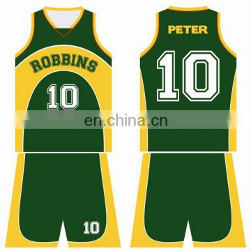 basketball uniform customize desing