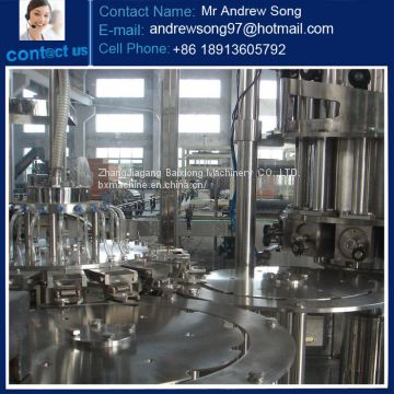 Glass Bottle Bottling Machine/Line For Juice Drinks