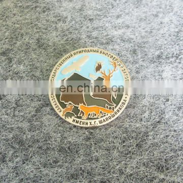 Souvenir metal zoo animal challenge coins