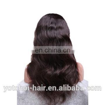 Factory directly wholesale 100 brazilian virgin hair full lace wigs, brazilian body wave hair, human hair full lace