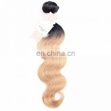 fashion black rose blonde beazilian body wave remy hair weaving