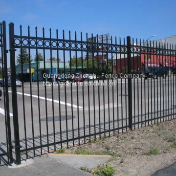 Welded ornamental metal fencing garrison fence for Australia