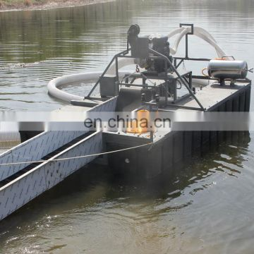 6 inches portable floating gold dredge