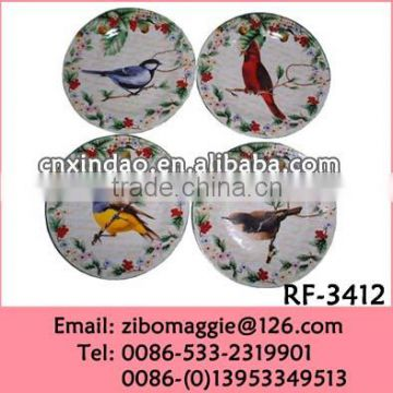 Zibo Made Cheap Promotion Decorative Ceramic Plain White Plate for Tableware