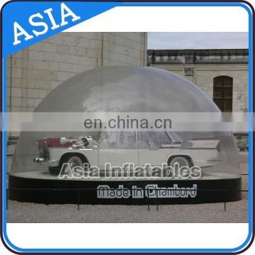2015 Newest inflatable clear snow globe with air mat