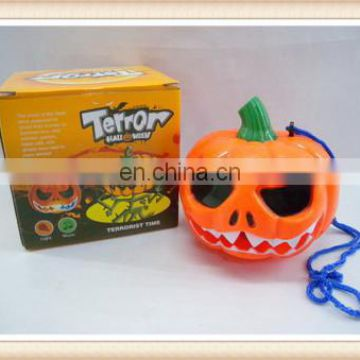 Plastic pumpkin toy halloween lighting