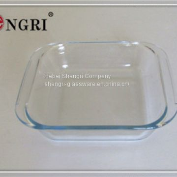 borosilicate glass baking dish