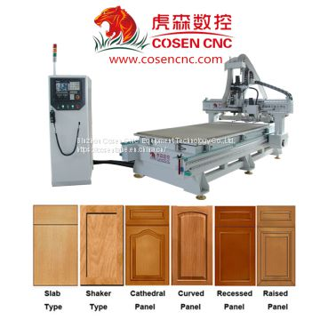 Solid Wood Cabinet Door Making Cnc Woodworking Machinery Of Cnc