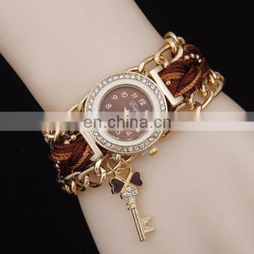 Factory chain bracelet watch fancy lady watch