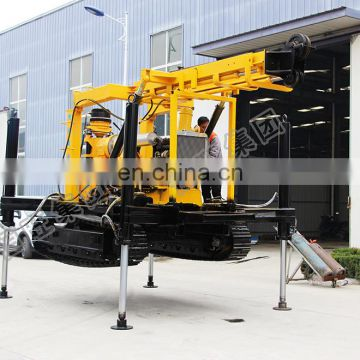 Crawler XY-3 shallow water well drilling rig