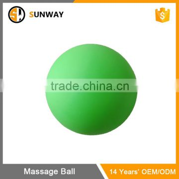 Custom Logo Silicone Body Foot Rubber Lacrosse Ball Peanut Massage Ball