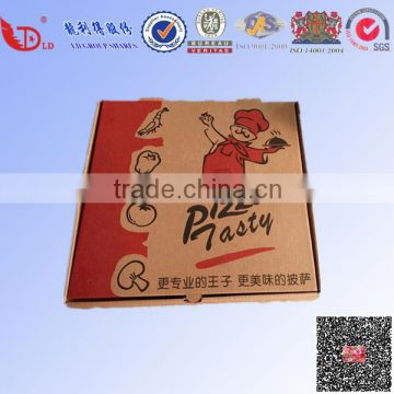 Customized printing fiberglass pizza delivery box for scooter