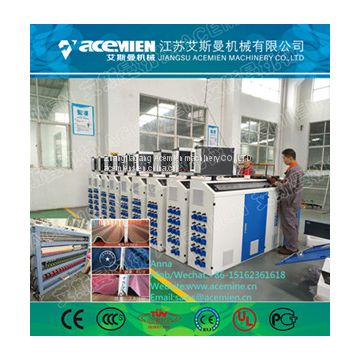 PVC glazed tile making machines