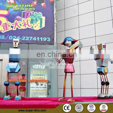 Intelligent Robot Dance Amusement