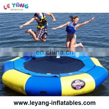 Inflatable Water Trampoline For Sale , Inflatable Trampoline On Water