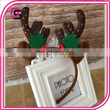 2017 Creative design hot sale headband antlers band for christmas