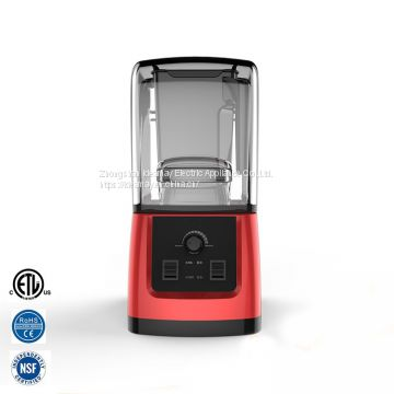 Ideamay 1500W 1.2L Heavy Duty Sound Proof Cover Smoothie Blender