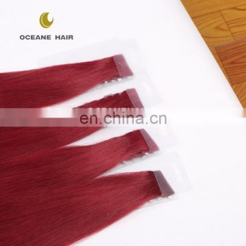 colored 2.5g/standard tape in hair extensions