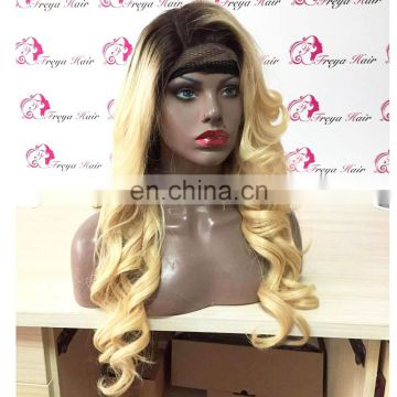 Aliexpress hair full lace wig blonde wig kosher human hair wigs