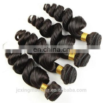 New Fashion Hair Style Curly Brazilian Hair Virgin Brazilian Loose Curl