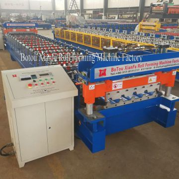 Roofing Aluminum Roll Forming Machine
