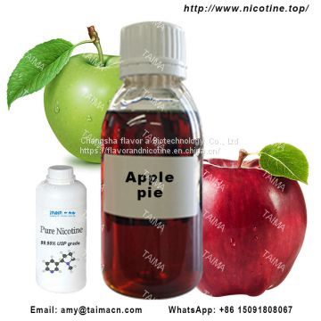 99.95% Concentrated Apple pie Flavor Used For Vape Juice