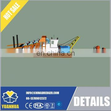 cutter suction dredge gold mining equipment
