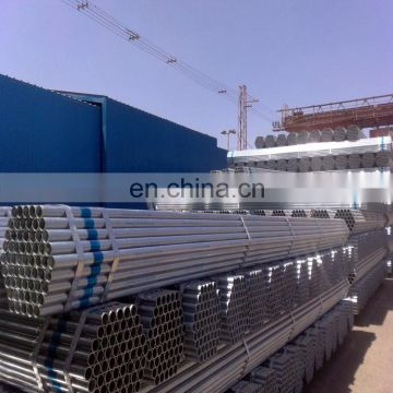 hot dipped galvanized conduit pipe / heavy gi pipes