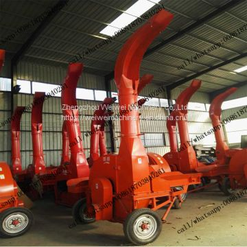 Factory Hot Sale 9ZP-10  automatic feed chaff cutter silage chopper machine