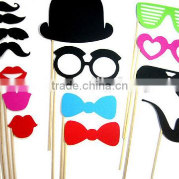 cheap high quality funny mask beard wedding party happy birthday photography photo decoration