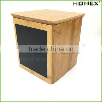 Kitchen bamboo box bamboo food container Homex BSCI/Factory
