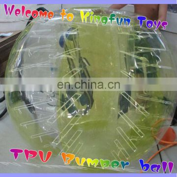 1.5M TPU bumper Soccer suit/football bubble ball